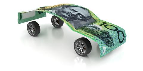 100 Australian Dollars on Wheels