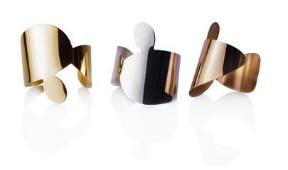 Bracciali in oro argento e bronzo