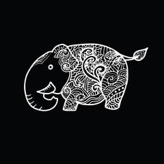 Elephant chalk
