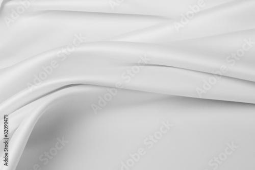 Papiers peints Tissu White silk