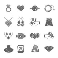 Precious Jewels Icon Set