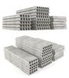 Precast concrete composite hollow core deck slabs. - 82091687