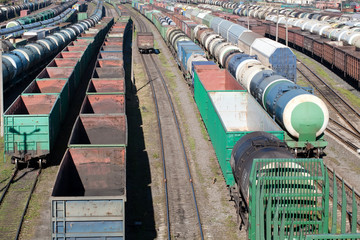 railway cargo trains