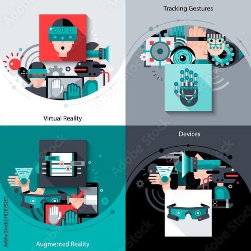 Virtual Augmented Reality Set - 82095203