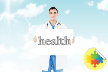 Health against blue sky