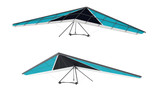 Hang glider isolated