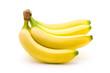 Leinwanddruck Bild - Bananen Bio Fairtrade