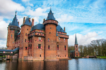 Castle De Haar in the province of Utrecht