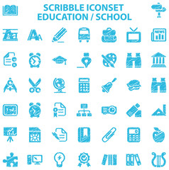 Scribble Iconset Education / School