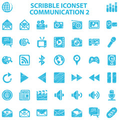 Scribble Iconset Communication 2