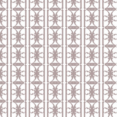 Ornamental abstract pattern. Seamless vector background.