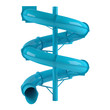 Aquapark slide tube isolated - 82099242