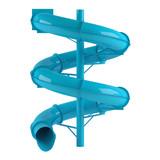 Aquapark slide tube isolated