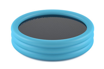 Inflatable pool isolated