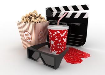 popcorn 3d movie