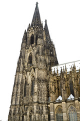A Spire of the Cathedral in Cologne, Germany