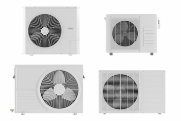 Air conditioner system isolated