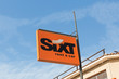 Leinwanddruck Bild - Sixt Car Rental Office