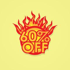 Fiery discount.