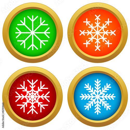 Snowflake set - 82104661