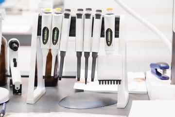 Laboratory equipment.