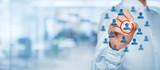 Marketing segmentation and leader - 82107437