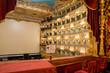 Leinwanddruck Bild - VENICE - APRIL 7, 2014: Interior of La Fenice Theatre. Teatro La