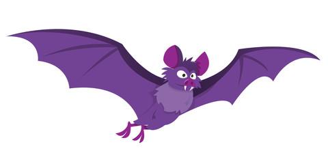 Cartoon Flying Bat