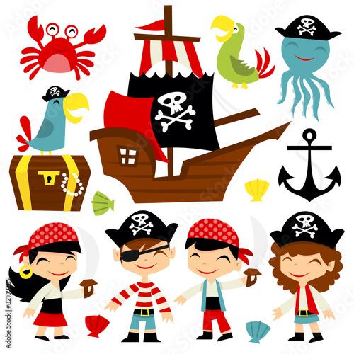 Retro Pirate Adventure Set - 82109285