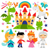 Retro Magical Fairytale Kingdom Set - 82110044