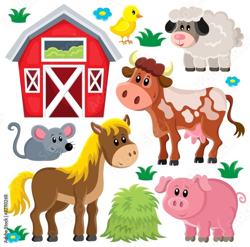 Farm animals set 2 - 82110268