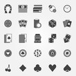 Casino icons vector set - 82111074