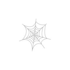 Simple icon Spider web.