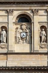 facade of the Chapelle de la Sorbonne in Paris, France