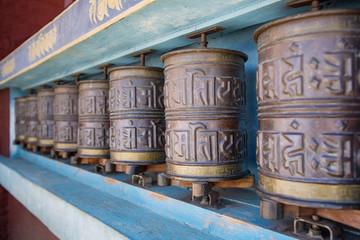 Tibetan religion symbols in Nepal