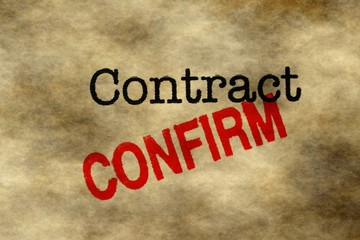 Contract - confirm