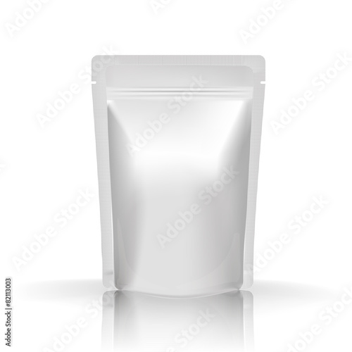 Mockup Blank Foil Food or Drink Pouch - 82113003