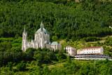 Castelpetroso, vista panoramica del santuario