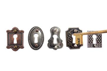 Old fashioned locks