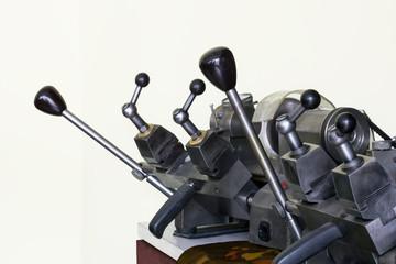 Mechanical keys copying machine
