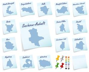 Karte von Sachsen-Anhalt