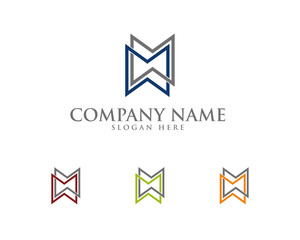 M W abstract Lettermark