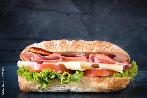 Fotobehang Restaurant Sandwich time