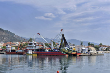 Fishing Port, Kucukkuyu, Turkey