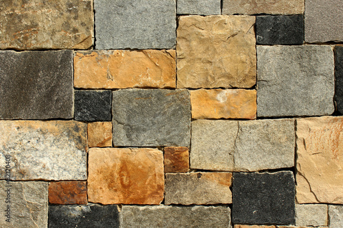 Papiers peints Pierre, Sable Stone Wall