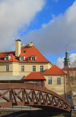 Bridge. Ceske Budejovice, Czech Republic