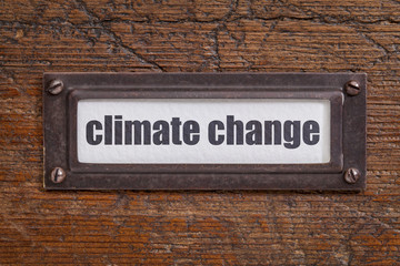 climate change  label