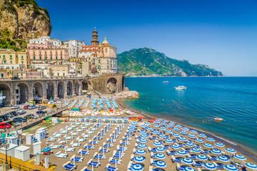 Town of Atrani, Amalfi Coast, Campania, Italy