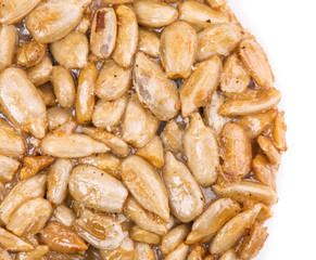 Candied roasted peanuts sunflower seeds.