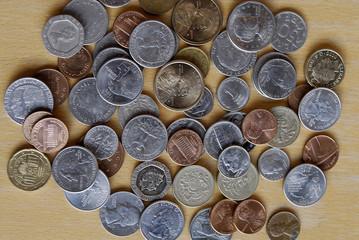 USA AND EUROPEAN COINS